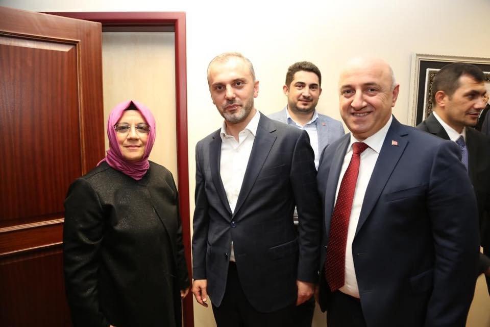 Erdoğan'nın selamını getirdi