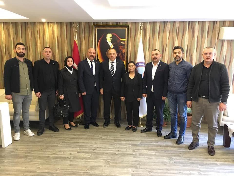 MHP'li Aygün'den seri ziyaretler