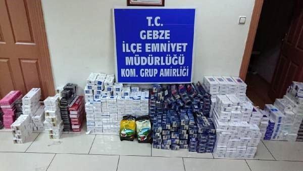 Darıca'da kaçak sigara operasyonu!