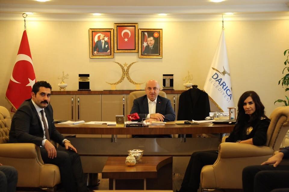 Emniyet Müdürü Şen'den Bıyık'a iade-i ziyaret
