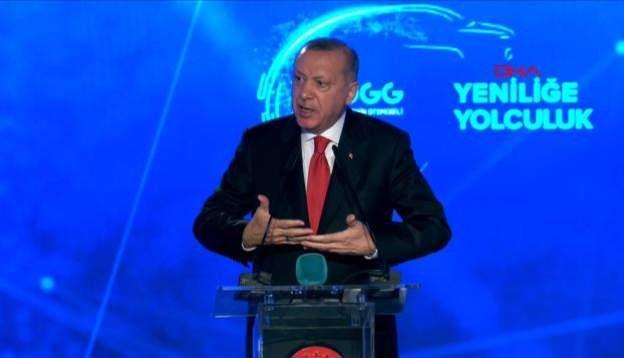 Erdoğan: Türkiye'nin 60 yıllık rüyası gerçek oluyor