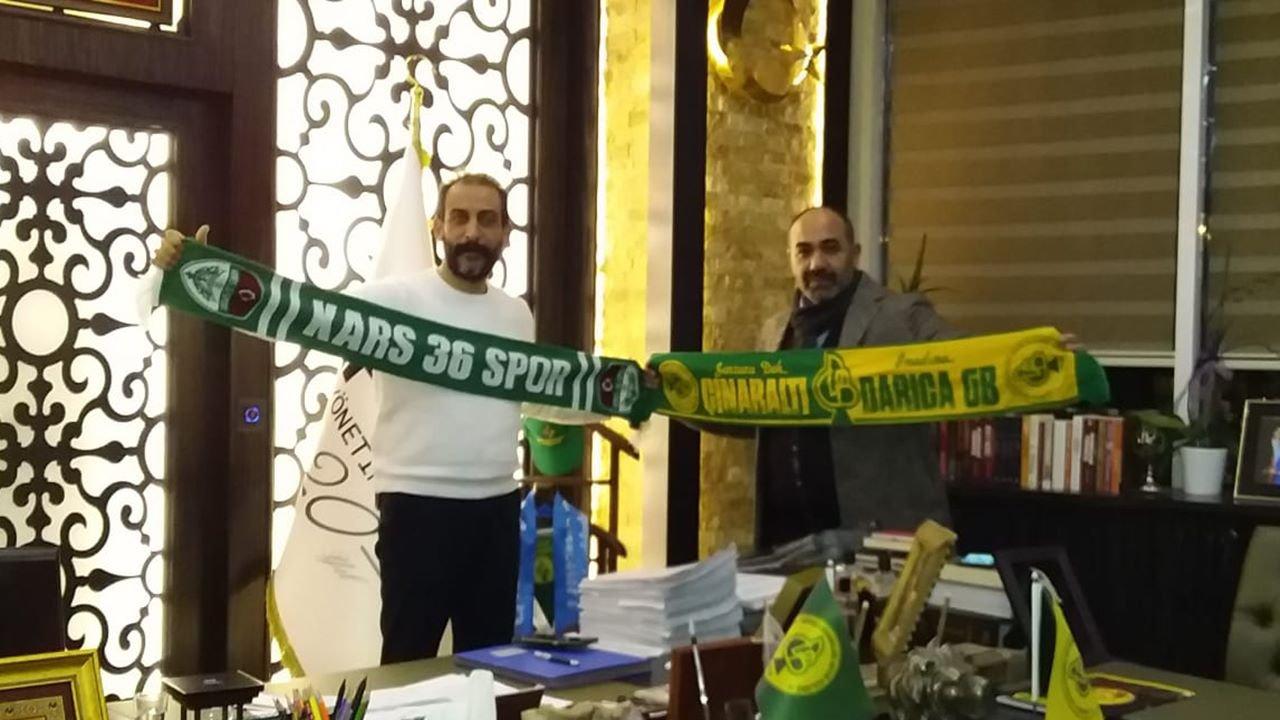 Karsspor'dan Arif Gülen'e ziyaret