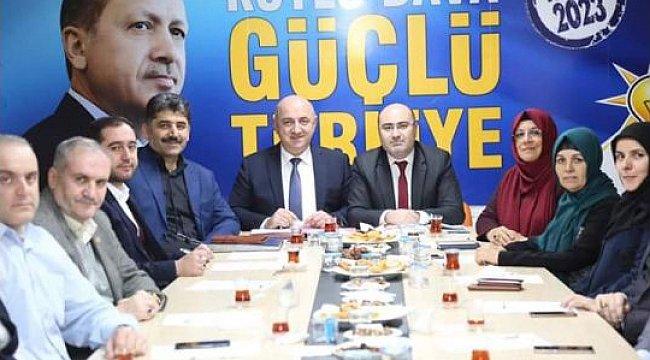 AK Parti Darıca meclis öncesi durum değerlendirmesi yaptı
