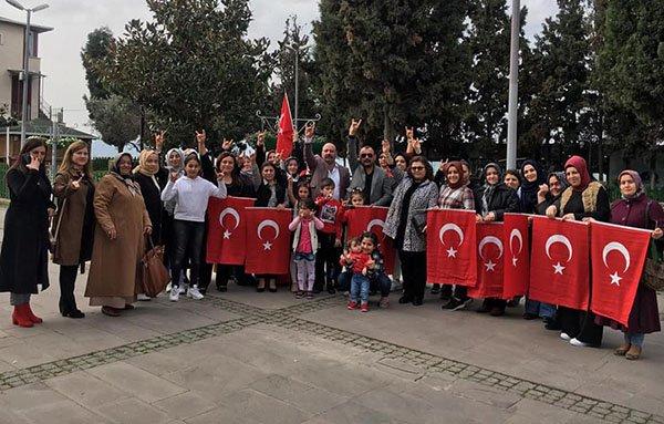 MHP'li Kadınlardan '' Kadınlar Günü '' etkinliği