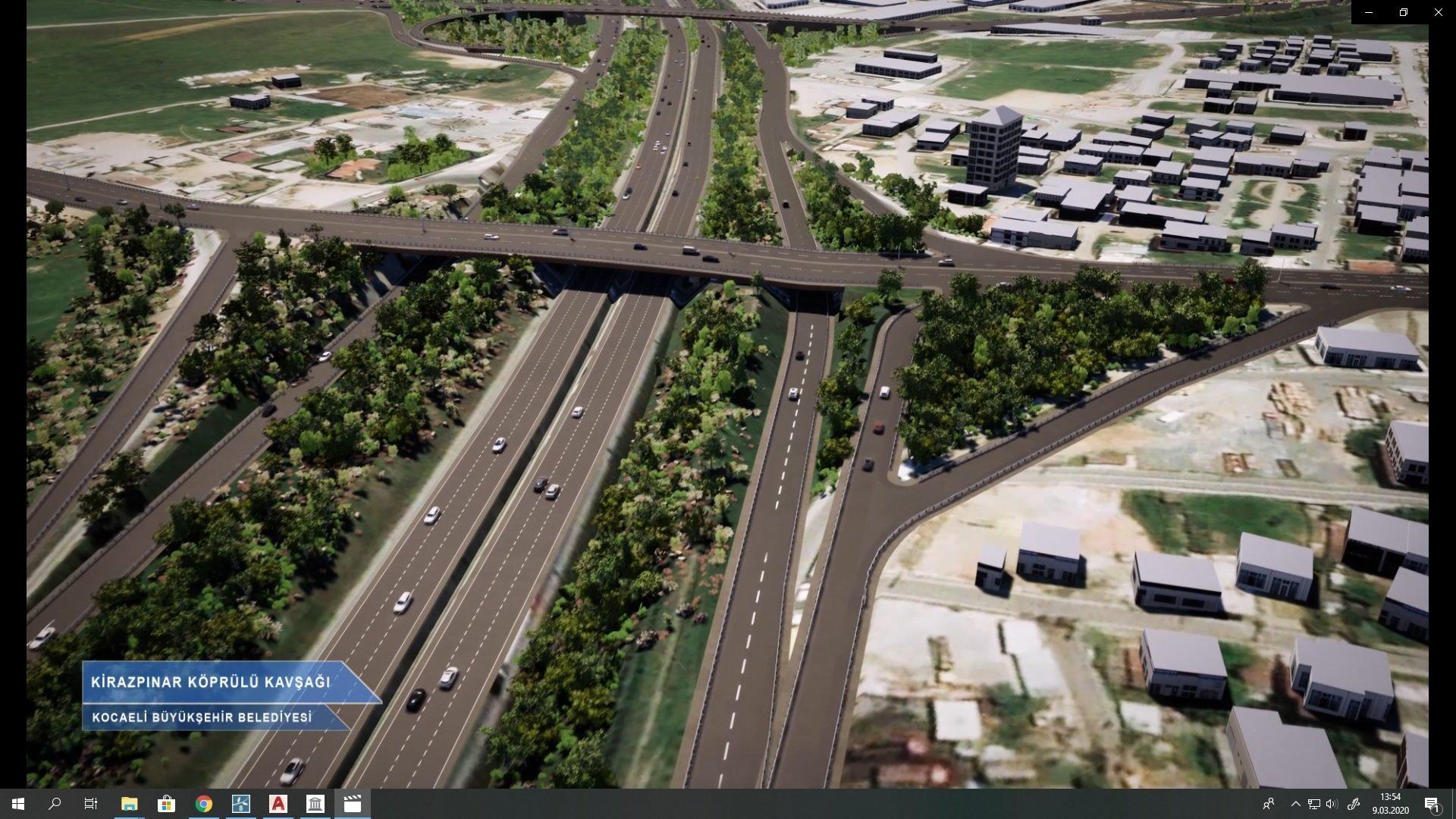 Dev projeyle Gebze OSB'lerdeki trafik yoğunluğu azalacak