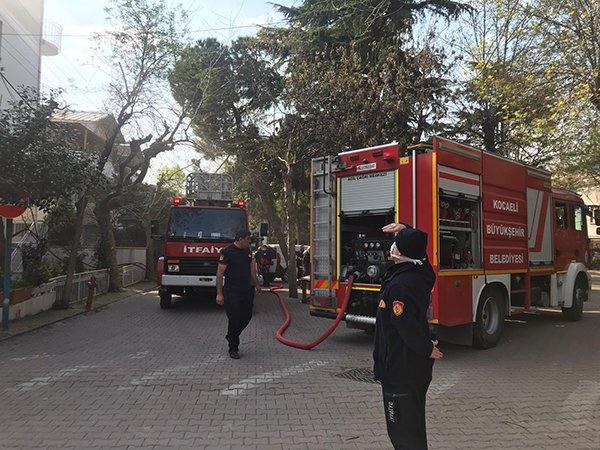 Bayramoğlu'ndaki yangında korkulan olmadı