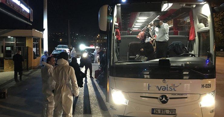 Fransa'dan gelen 288 yolcu Kocaeli'de karantinaya alındı