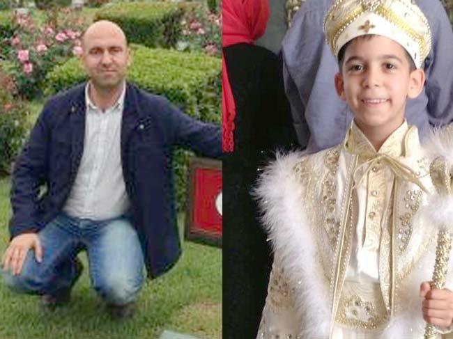 Fatih Ünsal'ın oğlu sünnet oluyor