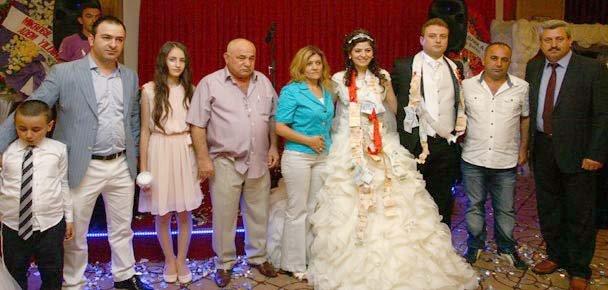 Yılmaz ve Çakır ailelerinin mutlu günü